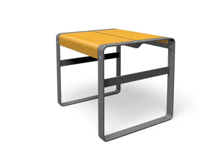 Pro urba fabricant distributeur de mobilier urbain vous for Mobilier table haute