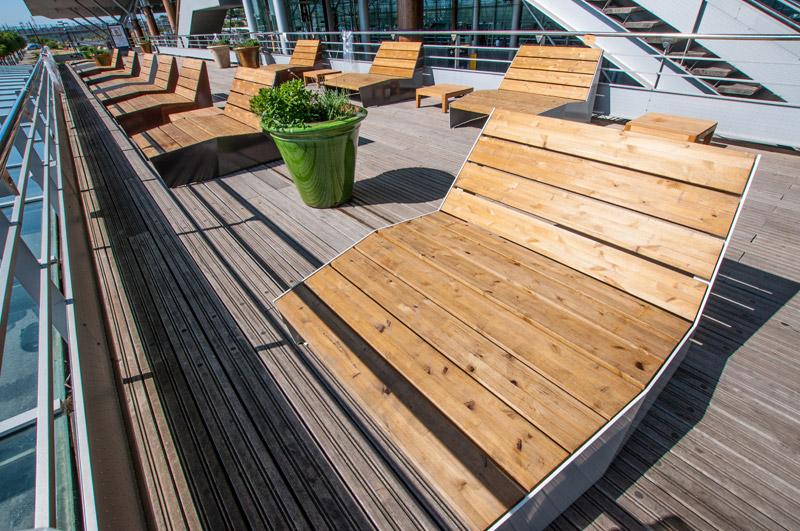 Mobilier urbain am nagements pro urba l 39 espace r invent for Mobilier urbain espace public