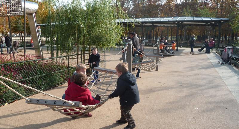 Jardin des Tuileries - Paris (75) - Jeux d\'extérieur - Pro Urba, l ...